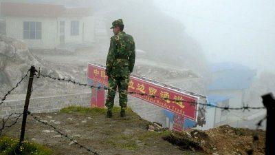 उत्तरी सिक्किमको चीन-भारत सीमाको फाइल तस्बिर